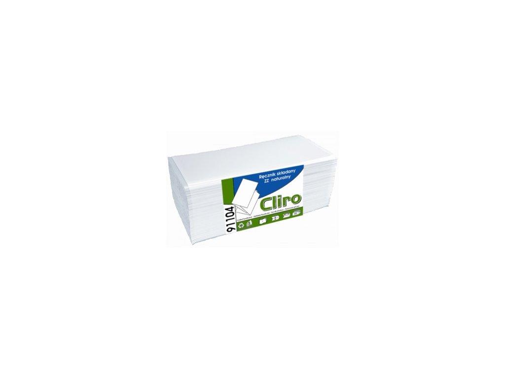 Cliro Papírové skládané ručníky 1. vrstvé