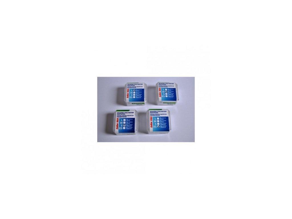 AnGer Polyesterové tvarované matrice - 16 ks