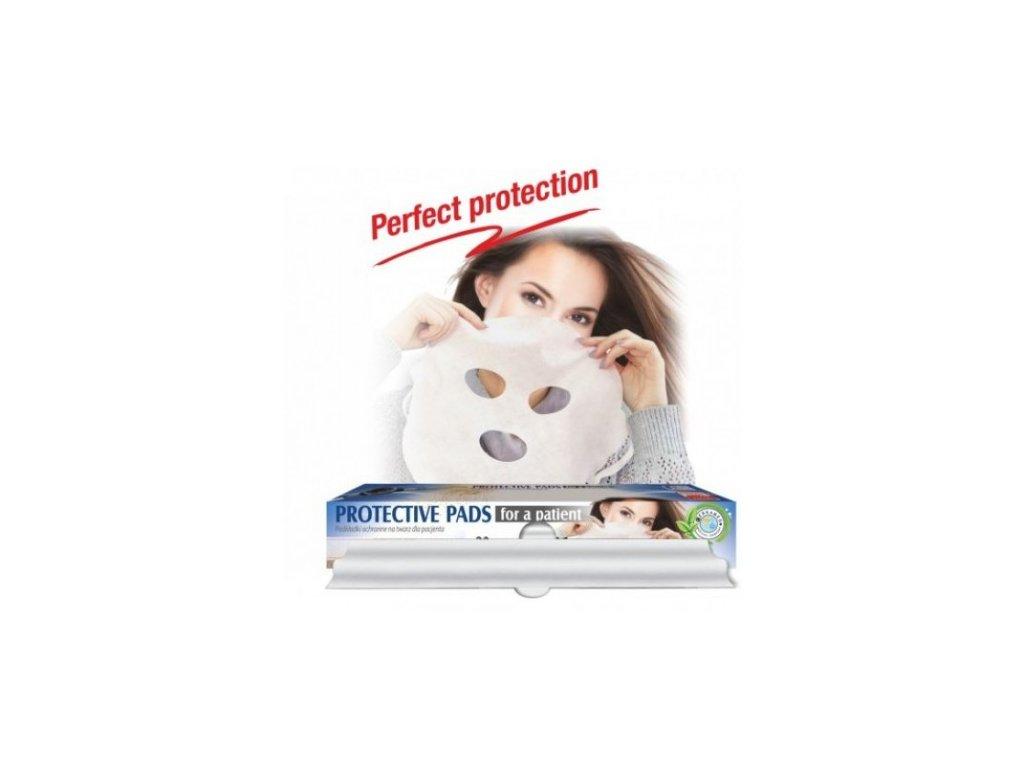 Cerkamed Ochranné roušky pro překrytí obličeje pacienta (Protective pads)