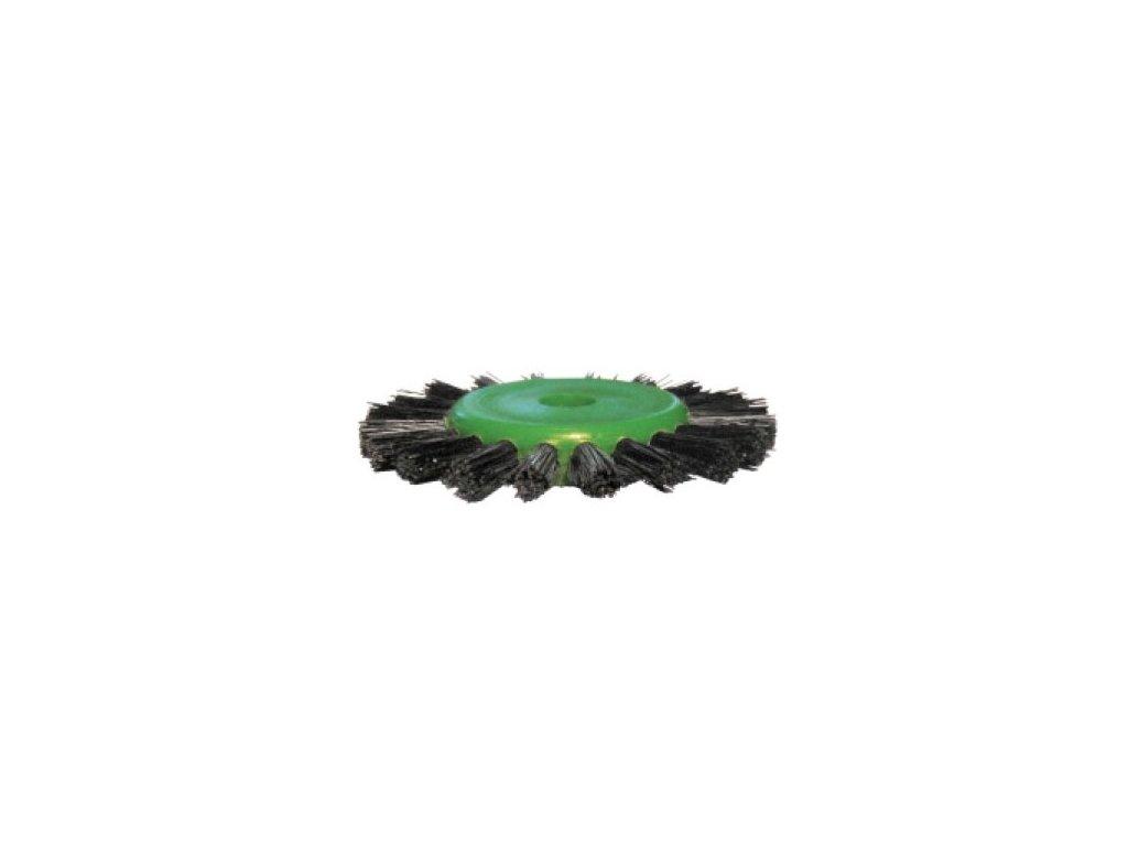 Stoddard leštící kartáč Lathe Brushes Standard extra Plastic green