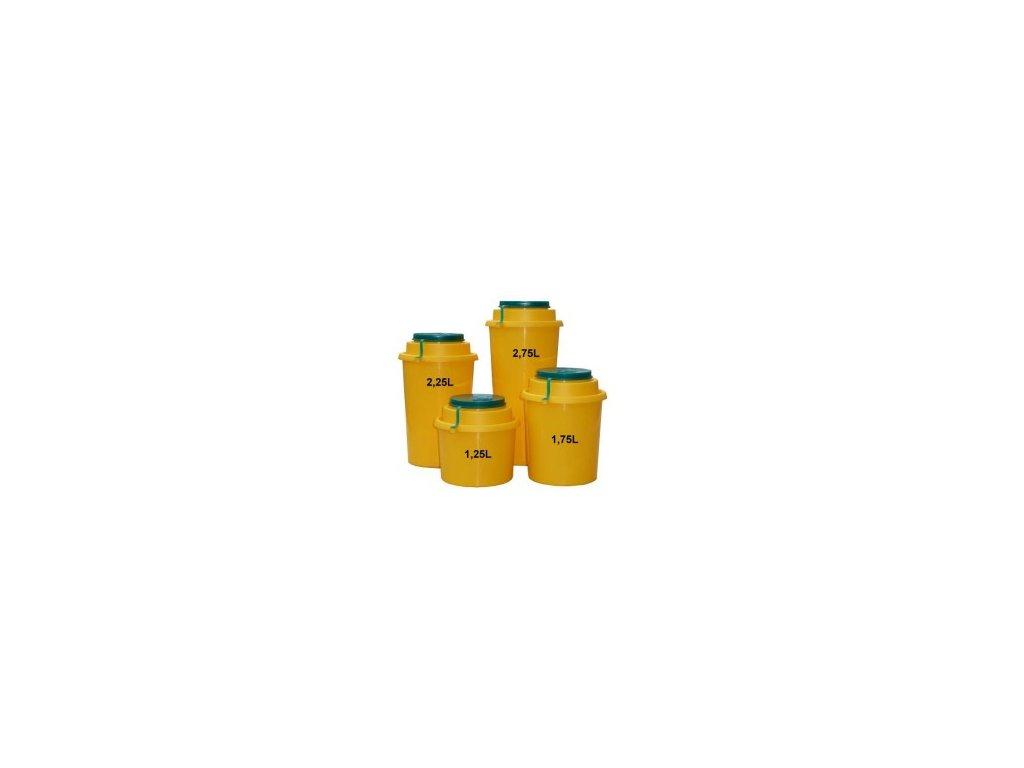 Yannick nádoba (kontejner) AUXIT na bio odpad 1,25 - 2,75l