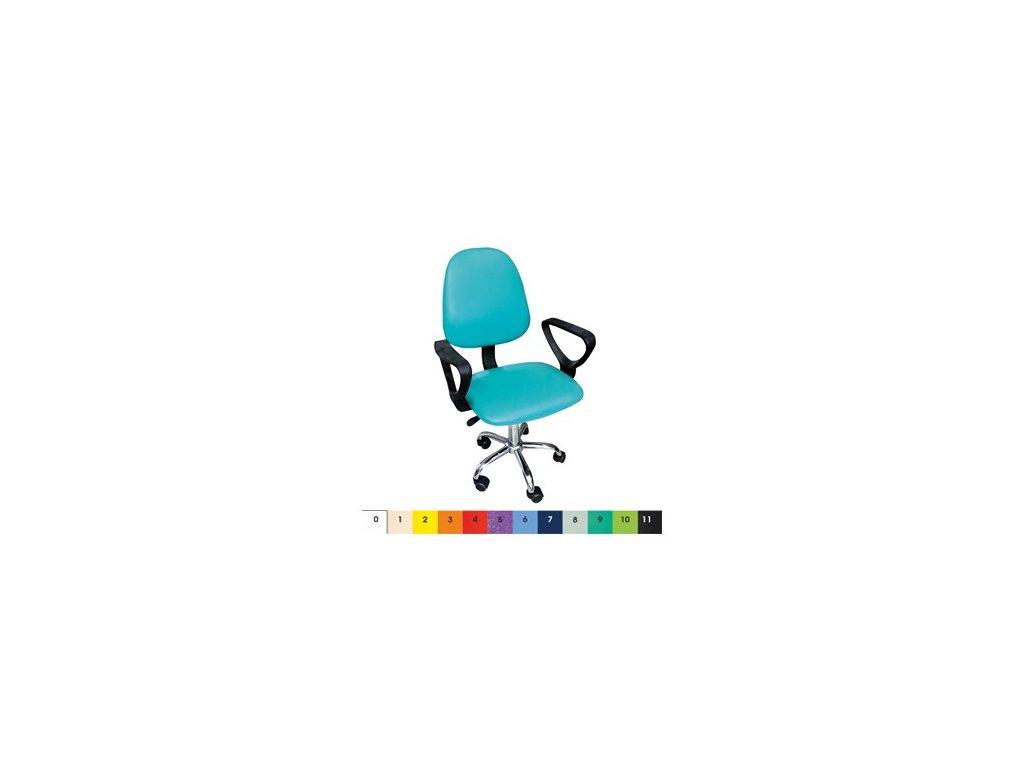 Kancelářská židle MEDI pro lékaře