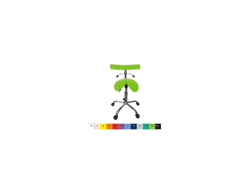 Lékařská židle MEDI Y sedátko