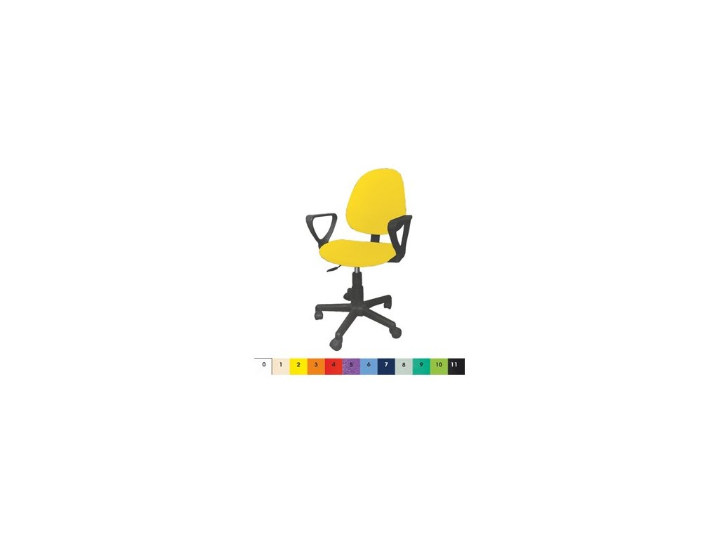Kancelářská židle MEDI pro lékaře plastová