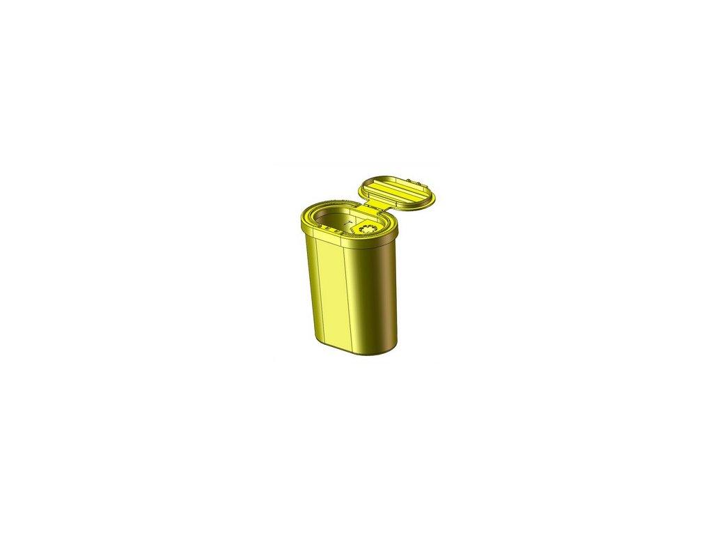 Yannick nádoba (kontejner) OVAL na bio odpad 0,375l