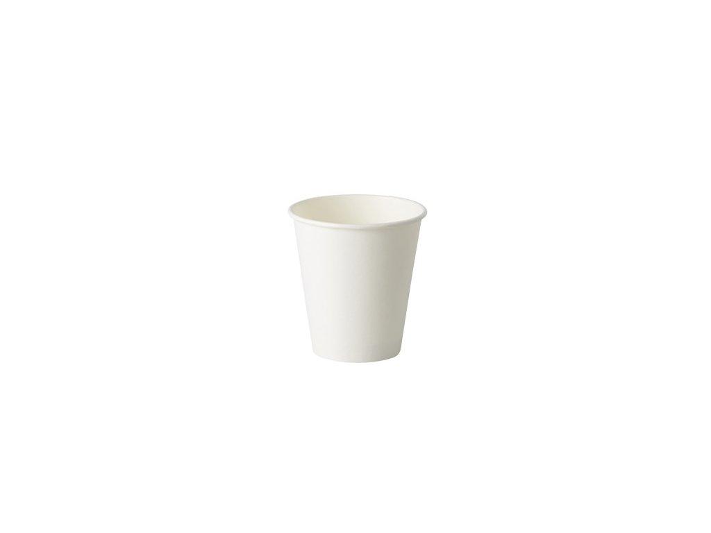 Kelímek papírový bílý, 200ml