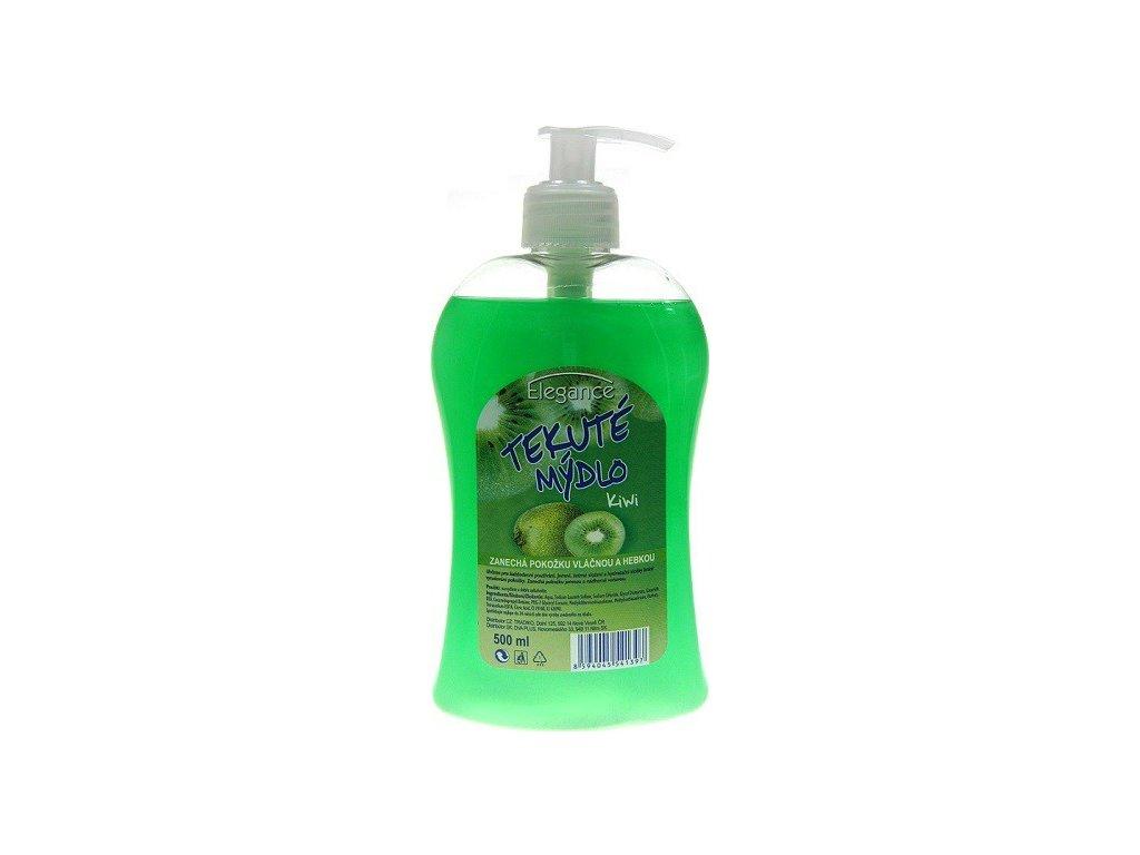 elegance tekute mydlo kiwi pumpicka