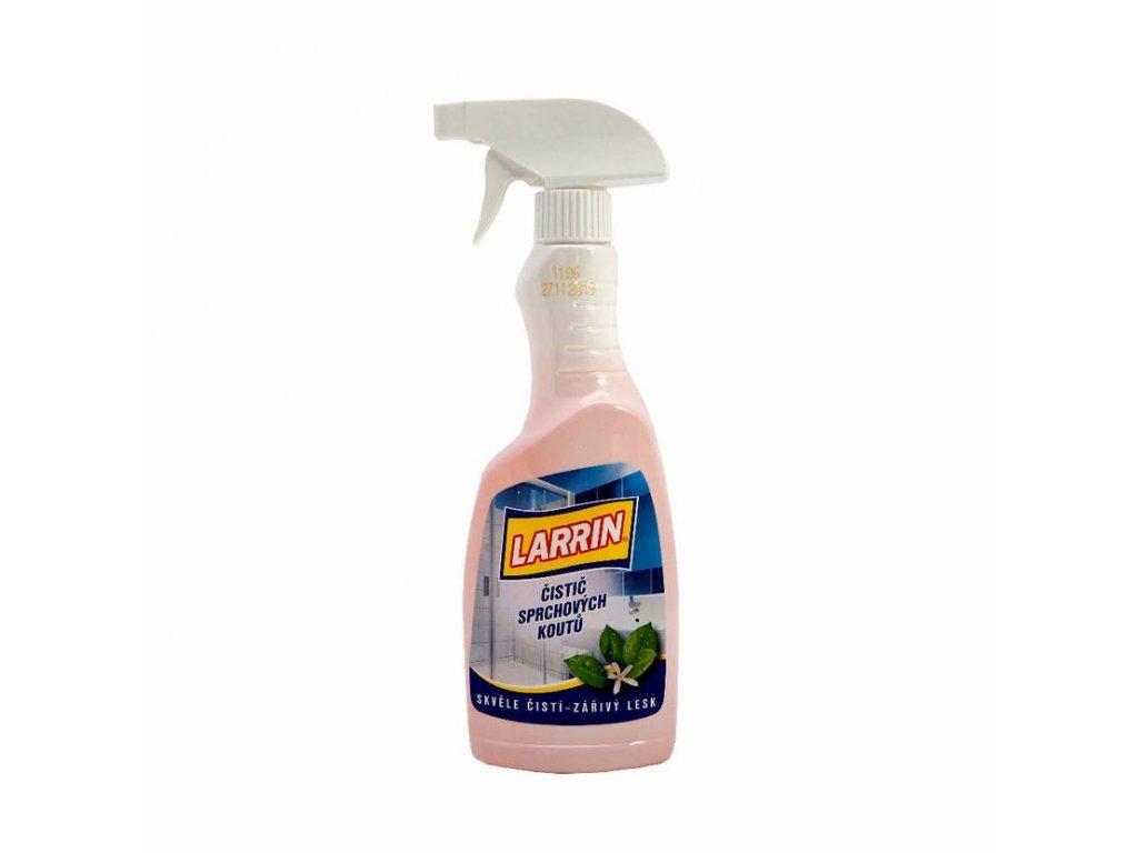 larrin sprchovékouty sprej