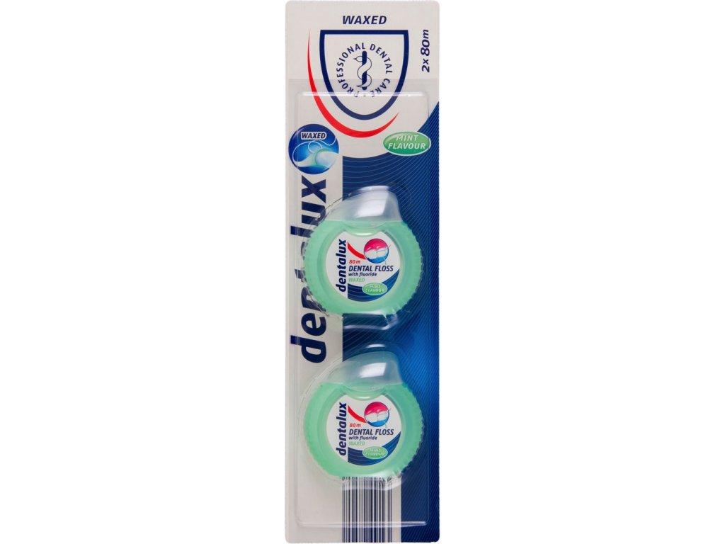 Dentalux Zubní nit voskovaná