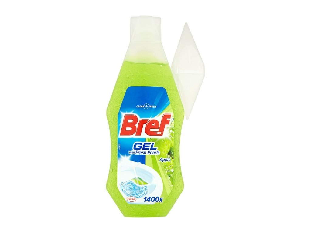 eng pl Bref WC with Fresh Pearls Apple Gel 360ml toilets 24241 1