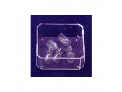 AnGer Polyesterové korunky, horní střední řezáky - Upper Incisors 5 ks
