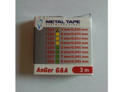 AnGer Kovová páska v krabičce - 3 m