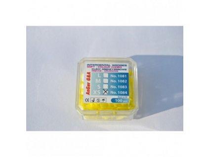AnGer Elastické mezizubní klínky soft - 100 ks
