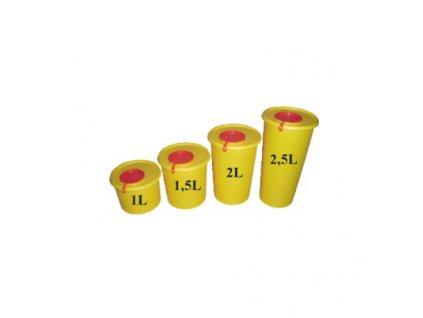 Yannick nádoba (kontejner) MEDIUS na bio odpad 1l - 2,5l
