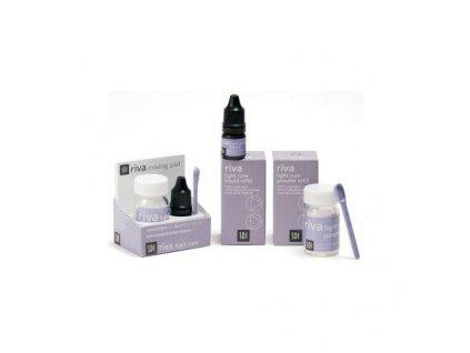 SDI Riva Light Cure prášek+tekutina