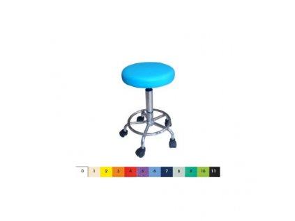 Ordinační otočná židlička