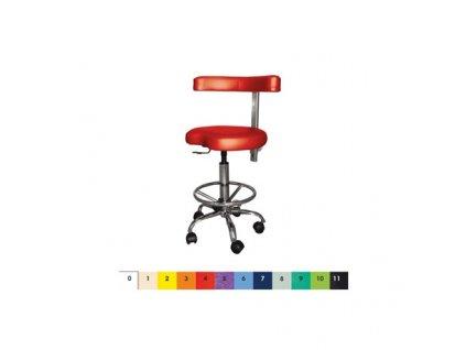 Ordinační otočná židlička MEDI A