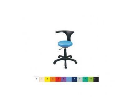 Ordinační otočná židlička Typ B