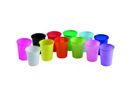 Euronda Kelímek plastový barevný, 180ml