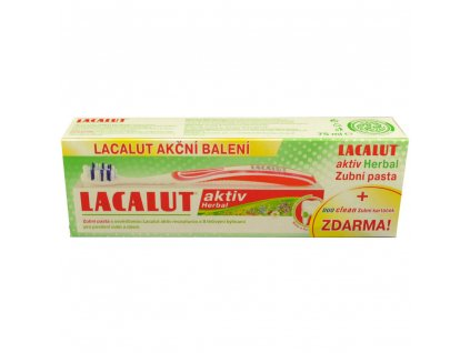 lacalut aktiv herbal zubni pasta 75 ml zubni kartacek zdarma 2157496 1000x1000 fit