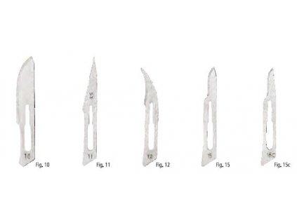 Braun Skalpelové čepelky č. 10-15c