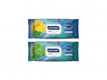 2625 freshmaker antibacterial wet wipes antibakterialni vlhcene ubrousky