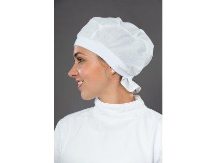 Operační čepice bílá