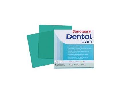 dental dam zeleny