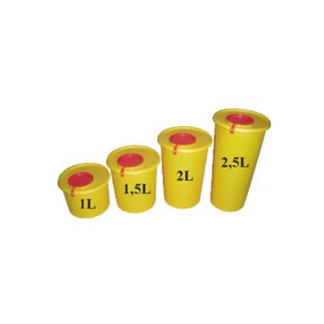 Yannick nádoba (kontejner) MEDIUS na bio odpad 1l - 2,5l Objem: 1 litr