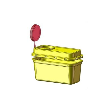 Yannick nádoba (kontejner) AUXIT na bio odpad 1,25 - 2,75l Objem: 1,25 l vanička