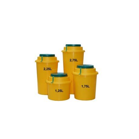 Yannick nádoba (kontejner) AUXIT na bio odpad 1,25 - 2,75l Objem: 1,25 l