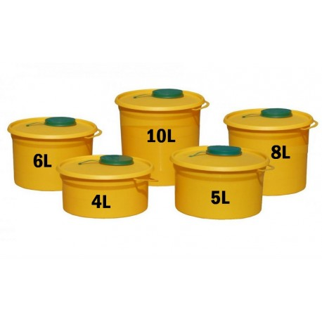 Yannick nádoba (kontejner) MAJOR na bio odpad 4 - 10l Objem: 4 litry