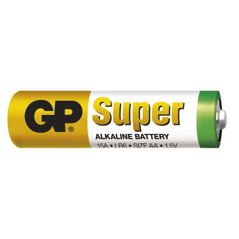 GP Batteries GP Alkalická baterie Super LR6 (AA) blistr Počet ks v balení: 1 ks