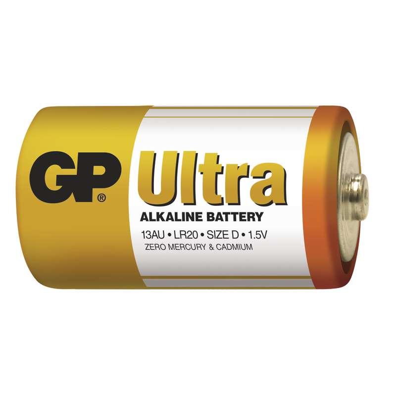 GP Batteries GP Alkalická baterie Ultra LR20 (D) fólie Počet ks v balení: 1 ks
