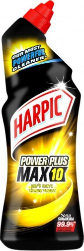 Reckitt Benckiser Harpic Tekutý WC čistič Power Plus Max10 Citrus Fresh