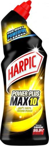 Reckitt Benckiser Harpic Tekutý WC čistič Power Plus Max10 Citrus Fresh