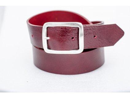 Dámský kožený opasek BLOODY EDITION, šíře 40mm
