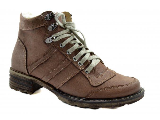 damska svetle hneda zimni obuv