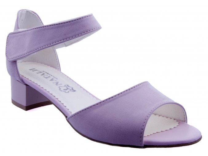 353 ruzova plotk sandalky na podpatku zapinani na zip sexy plesove svatebni levne kozene kuze jesenik