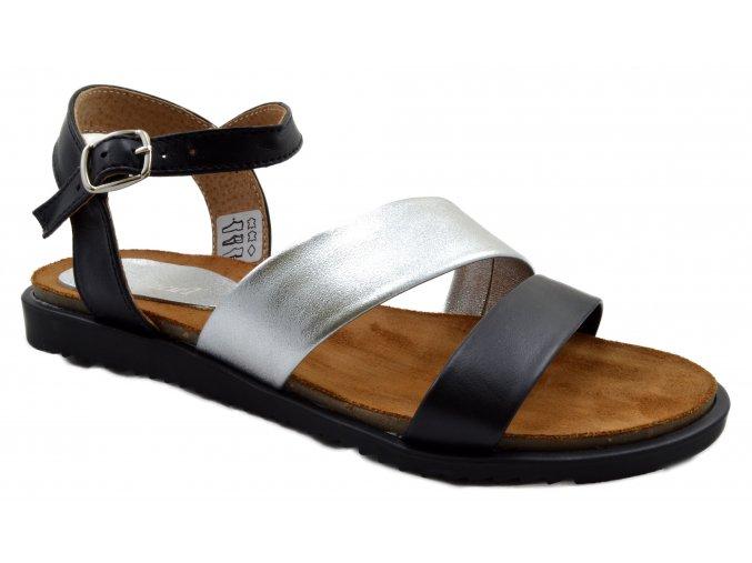 Dámské kožené sandále
