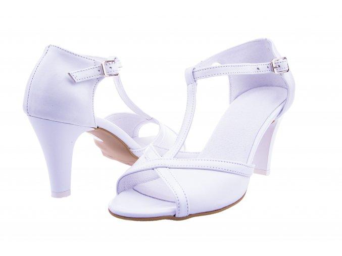 136 bialy+viazil bile elegantni lodicky svatebni krasne kolem kotniku kotnikove doprava zdarma svatba kozena obuv kozene boty 1