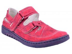 4625 2 cervena fantazja26 damske kozene sandale plne levne plna spice suchy zip
