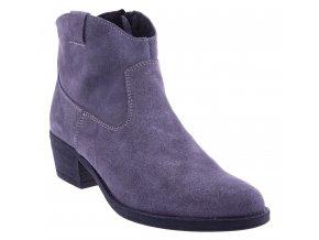692 popiel zams damske kozene polokozacky sede lehke levne sexy moderni levne polska obuv boty shoes