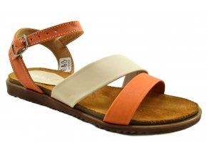 81 Dámské kožené sandále dýně