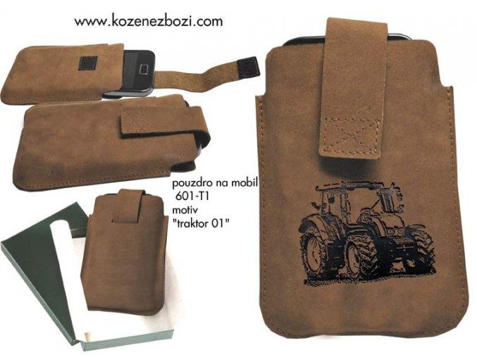 """pouzdro na mobil 601 - """"traktor 01"""""""