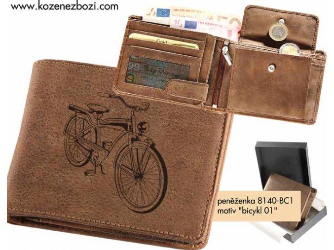 "peněženka 40 ""Bicykl 01"""