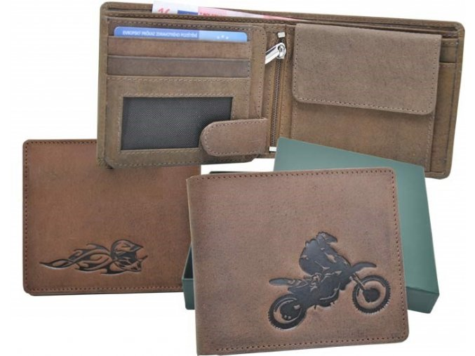 """motorkářská peněženka 40 """"cross"""""""