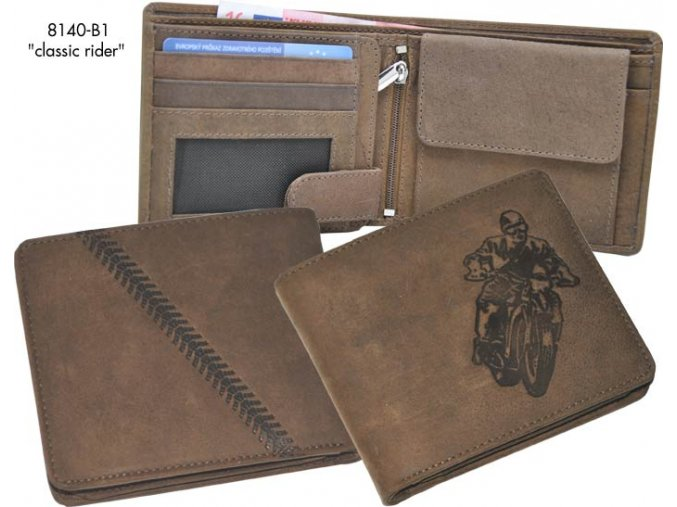"""motorkářská peněženka 40 """"classic rider"""""""