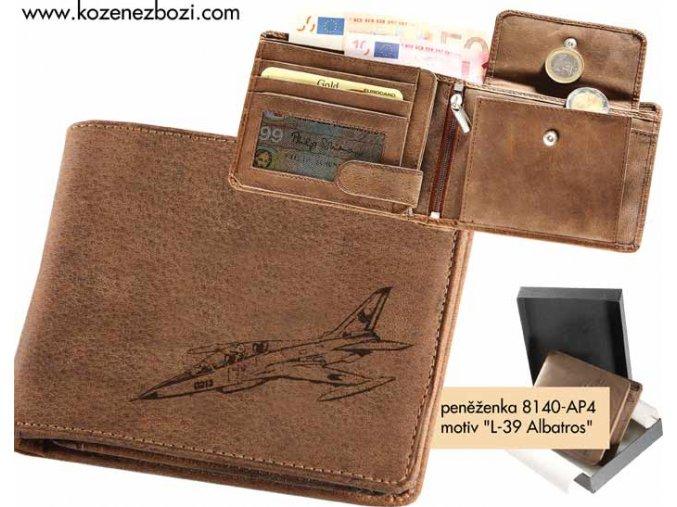 """peněženka 40 """"L-39 Albatros"""""""