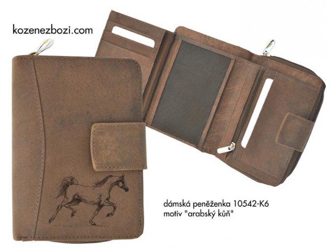"""dámská peněženka 542 """"arabský kůň"""""""